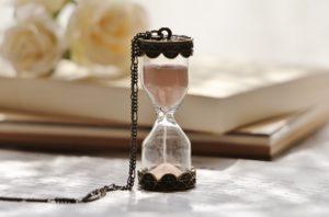 遺骨ネックレス、遺骨砂時計
