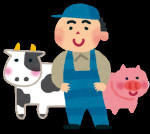 家畜、獣畜、豚、牛